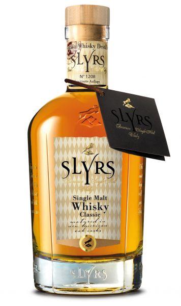 SLYRS Bavarian Single Malt Whisky classic 43% vol. 0,35 l