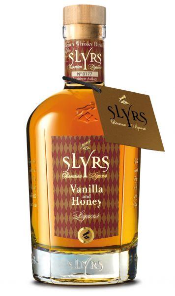 SLYRS Bavarian Whisky Liquer Vanilla & Honey 30% vol. 0,35l